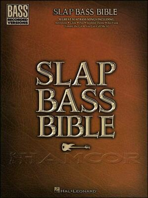 Slap Bass Bible Bass Recorded Versions Guitar TAB Music Book SAME DAY DISPATCH