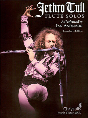 Jethro Tull Flute solos as performed by Ian Andersson HL00672547 9781423409779