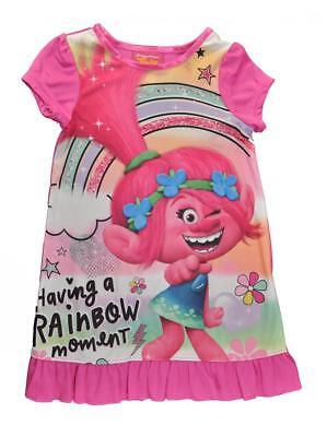Trolls Little/Big Girls Character Print Pajama Night Gown Size 4 6 8 10 $36](Girls Night Gown)