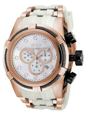 NEW Invicta Reserve Bolt Zeus 14409 Swiss Chronograph Silver Dial Watch SALE