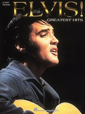 Elvis Greatest Hits for Easy Piano Sheet Music Easy Piano NEW 000308205