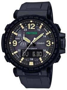 New in box - CASIO PRG600Y - SOLAR POWERED SURVIVAL WATCH - COMPASS - ALTIMETER - BAROMETER !!