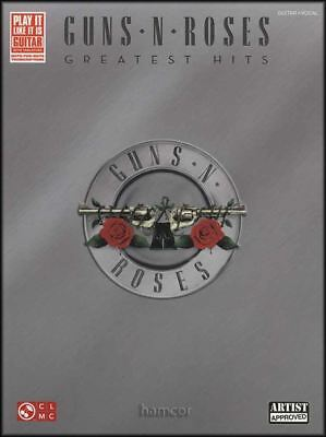 Guns N Roses Greatest Hits Pvg Bk Play Piano Vocal /& Guitar SHEET MUSIC BOOK