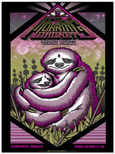 My Morning Jacket Berkeley CA 2012 Official Concert Poster Matt Leunig AP Signed
