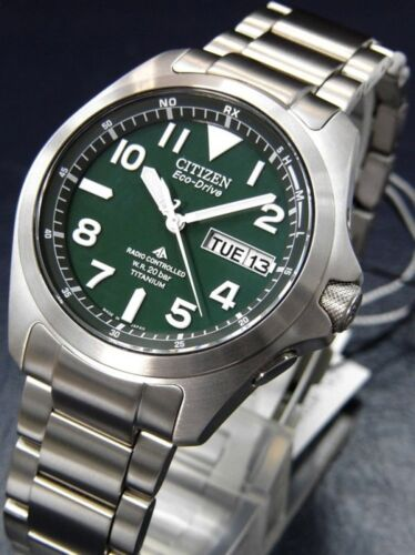 Citizen Promaster Land Pmd56-2951 Eco-drive Titanium 200m Watch
