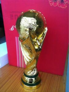 FIFA World Cup trophy 2018 gold plated