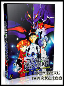 Neon Genesis Evangelion ( Vol. 1-26 End + 2 Movies ) Complete Series Box Set