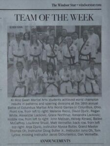 Learn Tae Kwon Do at World Ki Moo Gwan Martial Arts Windsor Region Ontario image 4