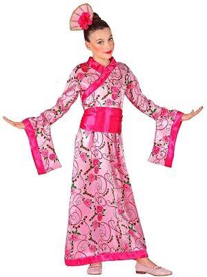 Asiatische Prinzessin Geisha Japanerin Kostüm für Mädchen - - Asiatische Kostüme