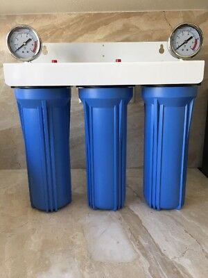 Iron/Sulfur Removal Whole House Water Filter System for Drinking Water Big Blue