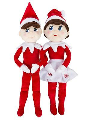 Elf on the Shelf Plushee Pal -  Boy & Girl Bundle - Santa's Store
