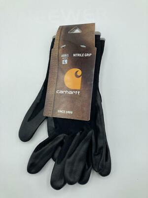 Carhartt Mens All Purpose Micro Foam Nitrile Dipped Glove Single Pack Large