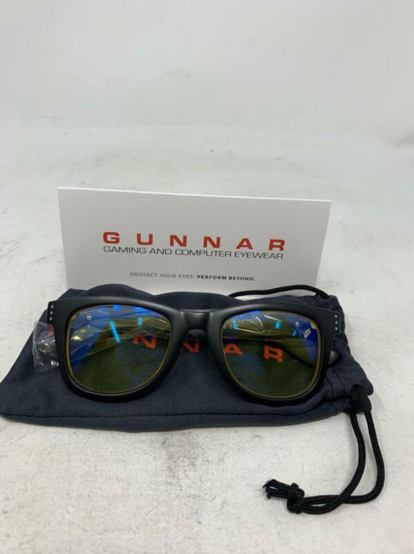Gunnar Axial Gaming Glasses Block Blue Light Anti-Glare Onyx/Amber Sunglass