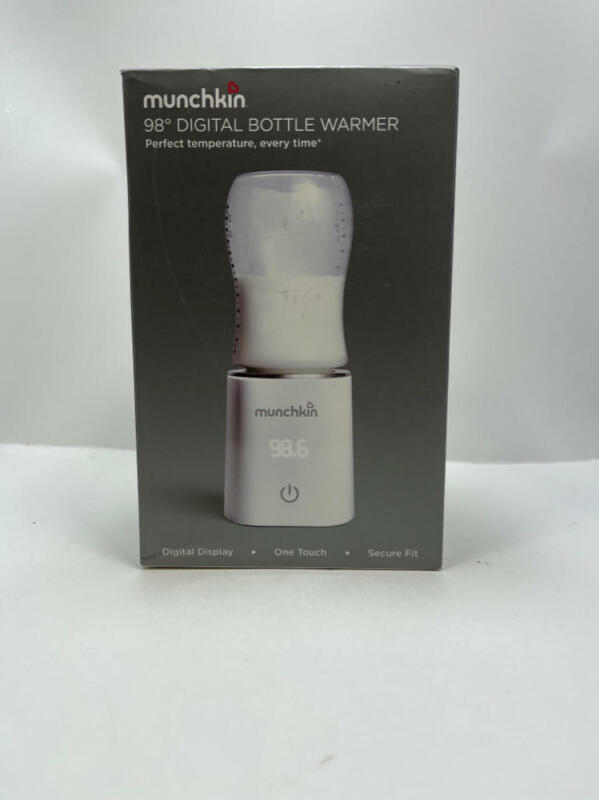 New Munchkin 98° Digital Bottle Warmer – Perfect Temperature, Every Time