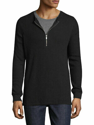 BLK DNM Men's Black Long Sleeve T-Shirt 88 #BMMJ08 Small $155 NWT 08 Long Sleeve T-shirt