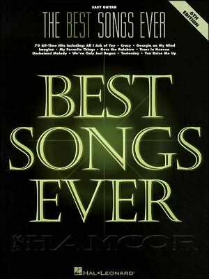 The Best Songs Ever Easy Guitar 6th Edition Chord & Music Book SAME DAY