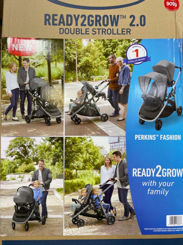 Graco Ready2Grow 2.0 Double Stroller - Perkins