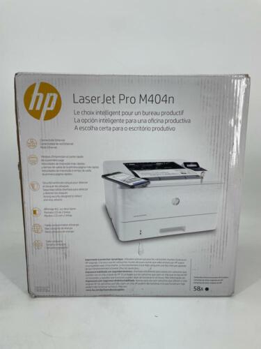 HP LaserJet Pro M404n Laser Printer with Built-in Ethernet &