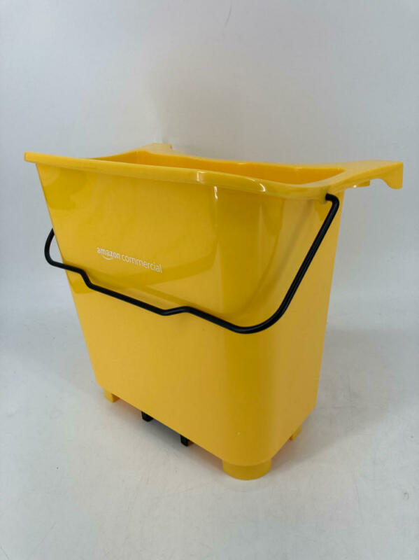 AmazonCommercial Fresh Mop Cleanser Supplemental Bucket, Yellow
