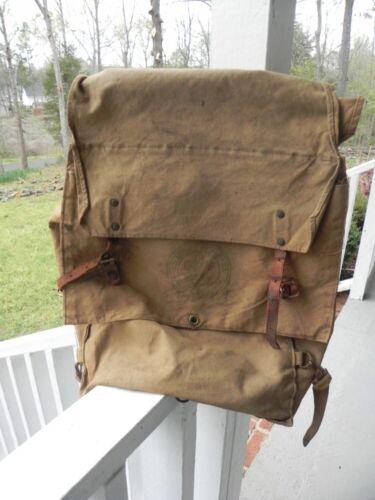 Vintage BSA Boy Scouts Of America No. 574 Yucca Pack Backpack Bag Rucksack