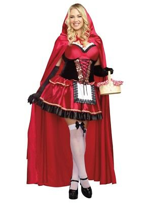 Little Red Riding Hood Halloween Costume DG9477X Plus Size 3X/4X - Size 3x 4x Halloween Costumes