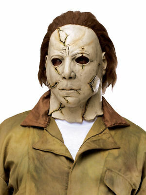 Rob Zombies Michael Myers (Michael Myers Officially Licensed Rob Zombie Halloween Adult Mask horror movie )