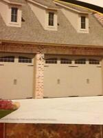 GARAGE DOOR SALES AND SERVICE 25 YRS EXP.