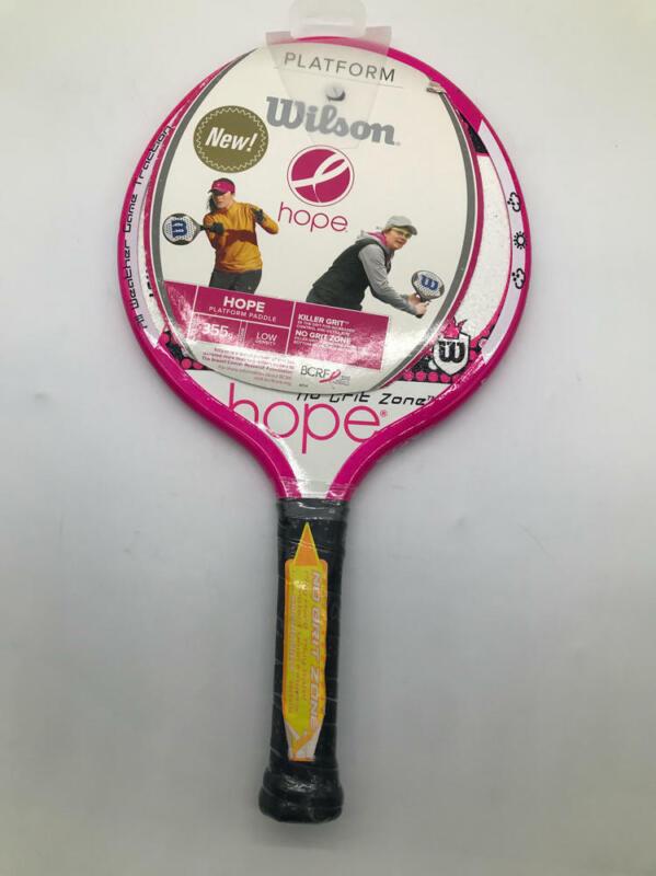 "Wilson Hope Platform Paddle - Breast Cancer Limited Edition - 4 1/4"""