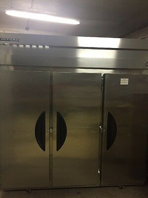 Conquest 3 Door Side By Side Commercial Kitchen Refrigerator VR-3 115V 60Hz