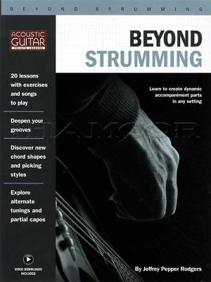 Beyond Strumming Guitar TAB Music Book/Video Alternate Tunings Chord Shapes