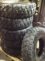 All-Terrain Used 9.00 R 16 XZL Michelin Military  Tires.