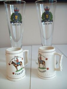 RCMP Collector's Wine glasses