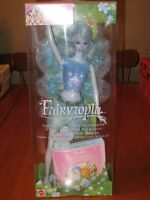 BARBIE DOLL FAIRYTOPIA BLUE SPARKLE FAIRY DOLL