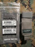 Benchmade One Hand Safety Cutter Hook, F.G. MOLLE II Case.