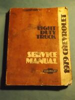 79 Chevrolet LD Truck Manual