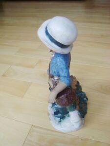 "Nadal Handcrafted Spanish Porcelain - Fisherwoman 11"" Kitchener / Waterloo Kitchener Area image 2"