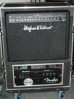 Amp Roadcase With 5 Space Rack