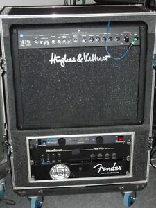 Amp Roadcase With 5 Space Rack Kitchener / Waterloo Kitchener Area image 1