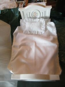 "barbie or marley doll  bed for 12"" doll"