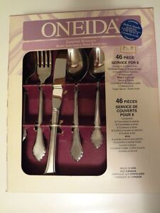 Stainless Steel 46 piece Cutlery $90
