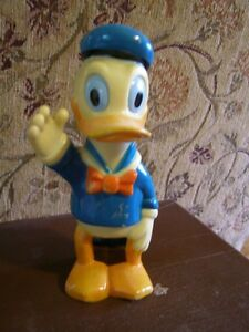 Vintage Disney Donald Duck Bank