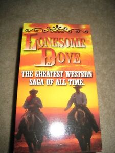 Lonesome Dove on VHS
