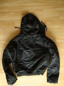 Brody Black Bomber Style Winter Jacket - Mint Condition Size LG Kitchener / Waterloo Kitchener Area image 2