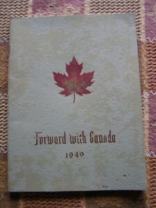 Book - Forward With Canada - 1949