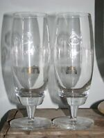 Pilsner Urquell Beer Glasses Set of Two - 1/2 pint/ 10 oz (NEW)