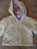 Yellow spring jacket -size 18 months