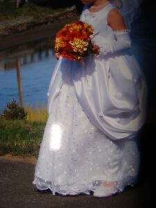 Flower girl dress - size 6