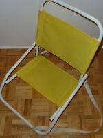 Mini chaise de plage, chaise pliable, chaise d'été