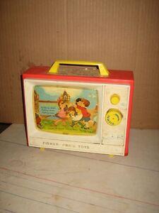 Original - Fisher-Price Classic Two Tune Music Box TV