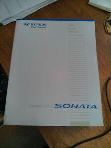 Hyundai Sonata 2008 Shop Manual / neg or exchange for matrix Gatineau Ottawa / Gatineau Area image 1